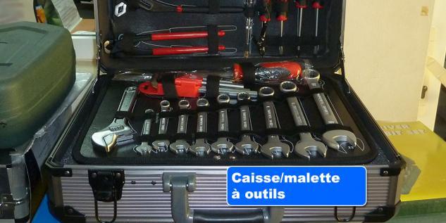 Caisse/malette à outils | Flash Mécanique & Outillages Martinique